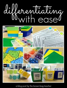 Differentiating Your Classroom with Ease | The Brown-Bag Teacher | Bloglovin'