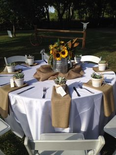 Western themed table decor for luncheon | Themed Party Decorations ...