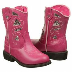 Sheriff Callie outfit boots for kids - features a bedazzled design which adds a little more sparkle to these pink boots.