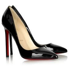 Christian Loubutin patent pigalle pointed shoes. Need. Want.