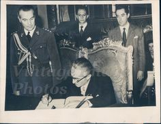 1945 Adolfo N Calco Argentinas Representative Mexico Chapultepec Press Photo