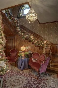 1890 Queen Anne staircase