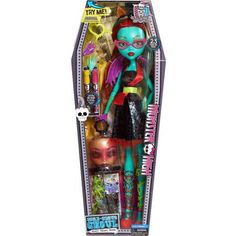 """Monster High 28"""" Voltageous Ghoul Friend (Green Version) Doll"""