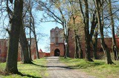 Szymbark - ruiny zamku.