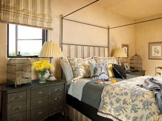 Traditional Bedrooms from Betty Lou Phillips on HGTV