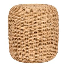 Lifestyle Alexis Poef Ø 44 cm Ottoman, Outdoor Furniture, Outdoor Decor, Laundry Basket, Lifestyle, Home Decor, Bali, Products, Primitive Furniture
