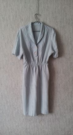 Vintage women's dress short sleeves 1990 romantic made in Germany by TinutesCreations on Etsy