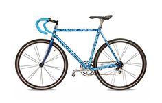 Custom Painted Bike Frame by emmystarbrown,