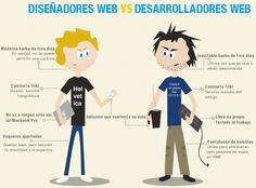 Diseñadores vs Desarrolladores WEB!
