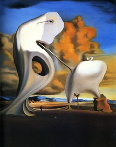 Salvador Dali - The Architectonic Angelus of Millet 1933