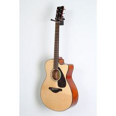 Yamaha FSX800C Small Body Acoustic-Electric Guitar Natural 888366070123