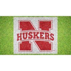 NCAA Nebraska Cornhuskers Anthem Window Curtain Panels Set of 2-36 x 48
