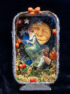 Vintage Witch Shadow Box | Flickr - Photo Sharing!