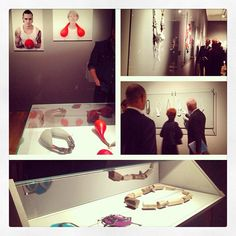 From the coolest corner #ftcc opening #nordic #art #jewellery by Norwegiancrafts, via Flickr