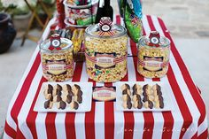 Night at the Movies Birthday Party - tons of fun ideas