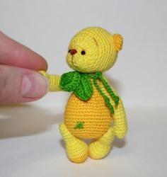 """Страница 1 из 3 - """"Вкусный мишка"""" Лимончик - отправлено в МК по вязанию игрушек: Здравствуйте, милые рукодельницы! Предлагаю вам связать вкусного мишку Лимончика.    Большое спасибо моим помощницам, которые протестировали описание:Иринка-картинка, aliska 1979 и Мария_НиНо. Вот такие мишки получились у девочек:   Описание предоставлено только для личного, некоммерческого использования. При опубликовании готовой работы указывайте, пожал..."""