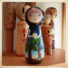 Other things... - Kimiko Hawkes - Painted Doll Wood