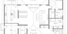 Bedroom House Plans, Dream House Plans, Modern House Plans, Small House Plans, House Floor Plans, Fairytale House, House Outside Design, Modern Exterior House Designs, Modern Bungalow House