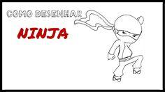 Como desenhar um Ninja
