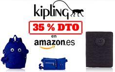 Descuento de un 35% en equipaje Kipling en Amazon