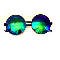 Elsie & Fred | Trinity Petrol Oversize Sunglasses =jag är kär!