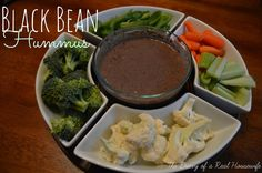 The Diary of a Real Housewife: Black Bean Hummus