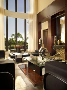 ♂ Contemporary luxury home design Adelson Residence by Jeffrey King Interiors.