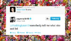 Inspirational One Direction tweet by Zayn Malik.