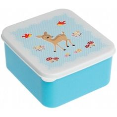 Lunchbox Hertje Blauw