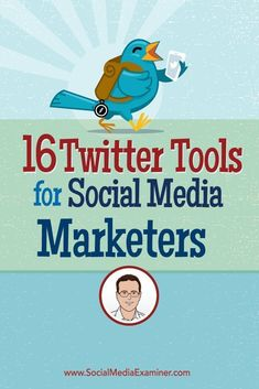 Do you use Twitter in your social media marketing? Want to be more efficient and productive on the platform? To talk about a wide range of Twitter tools for social media marketers, Michael Stelzner interviews @iagdotme. Via @smexaminer. #socialmediamarketingbusiness #twittermarketing