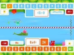 Squeebles Maths Race – miniaturka zrzutu ekranu