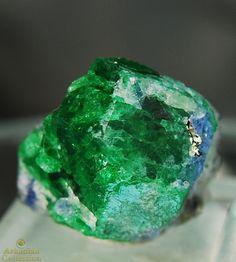Incredible Vibrant Green Tsavorite Crystal
