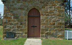 The heart of a Hunter Valley estate with a stone chapel still the scene of weddings. National Trust, Tall Cabinet Storage, Garage Doors, Places, Outdoor Decor, House, Weddings, Home Decor, Decoration Home
