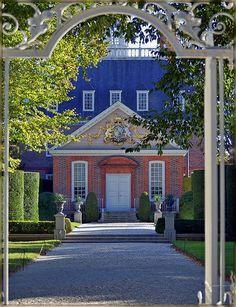 The Governor's Palace, Williamsburg, Virginia.