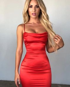 New Fashion Dress 2018 Pakistani other Dress Up Games Summer Fashion, Tight Open Dresses Homecoming Dresses Tight, Hoco Dresses, Satin Dresses, Pretty Dresses, Casual Dresses, Fashion Dresses, Dress Outfits, Tight Dresses Formal, Dress Clothes