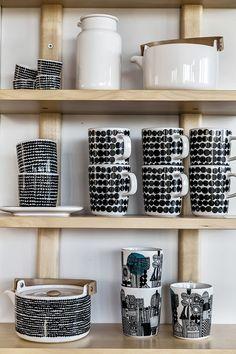 LA18 Marimekko, Interior And Exterior, Interior Design, Loft House, Cute House, Cozy Place, Scandinavian Home, Porcelain Ceramics, Modern House Design