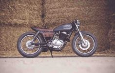 Suzuki GN400 Cafe Racer by Old Empire Motorcycles #caferacer #motorcycles #motos | caferacerpasion.com