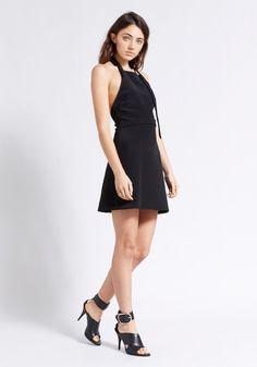 Elissa McGowan | Tablier Halter Dress | WWW.TUCHUZY.COM