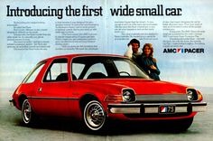 Recall the 1971 Pacer from AMC? It was Motor Trend car of the year because of its use of space in a small car. The car failed to save American motors.