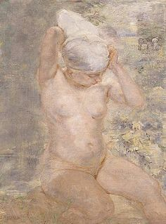 Nude by Stream, Isabel Bishop