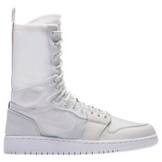competitive price 2d9aa 10db1 NIKE WOMENS JORDAN AJ1 EXPLORER XX CONVERTIBLE HIGH TOP CASUAL SHOES,  WHITE. nike shoes