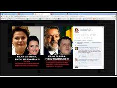 Conheça o filho do Lula, e a filha da Dilma, da pobreza à riqueza