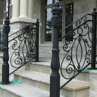 Wrought Iron Originals | Wrought Iron Outdoor Stair Railings ...
