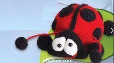 Amigurumi Örgü Oyuncak Uğur Böceği Modeli Yapılışı