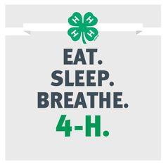 Eat. Sleep. Breathe. 4-H.