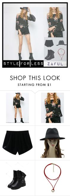"""""""STYLE FOR LESS : ZAFUL"""" by cami-supernova on Polyvore featuring mode et vintage"""