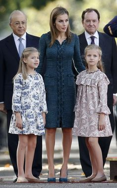 Spanish Royal Family attends National Day, Madrid, Spain, October 12, 2014