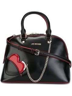 LOVE MOSCHINO heart tote. #lovemoschino #bags #shoulder bags #hand bags #tote #