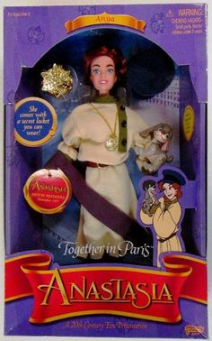 Anastasia doll - Together in Paris with Pooka the dog 1997:Amazon:Toys & Games