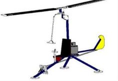 ultralight aircraft plans | OMH-Eagle Ultralight Helicopter Plans from Tinker Source